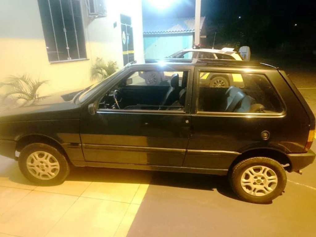 Carro furtado em Nova Prata do Iguaçu é recuperado no interior de Realeza