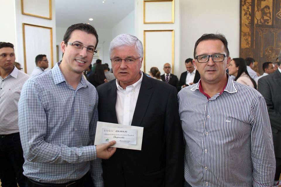 Chopinzinho recebe R$ 329 mil de cota extra do ICMS