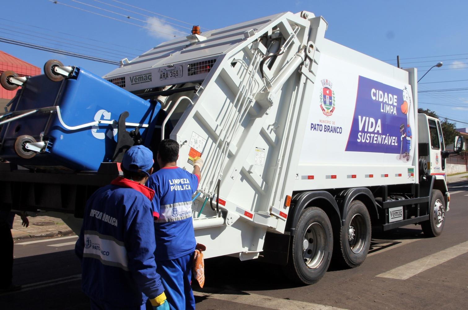 Após modernização, coleta do lixo reciclável aumenta em Pato Branco