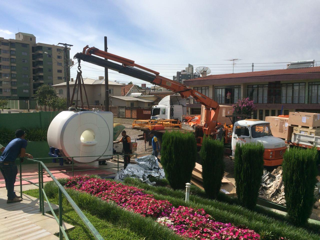 Hospital de Palmas/PR instala equipamento de Ressonância Magnética