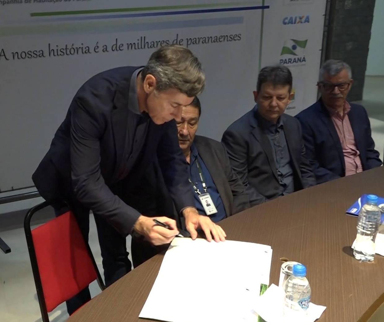 Contrato viabilizará 75 novas habitações sociais em Palmas