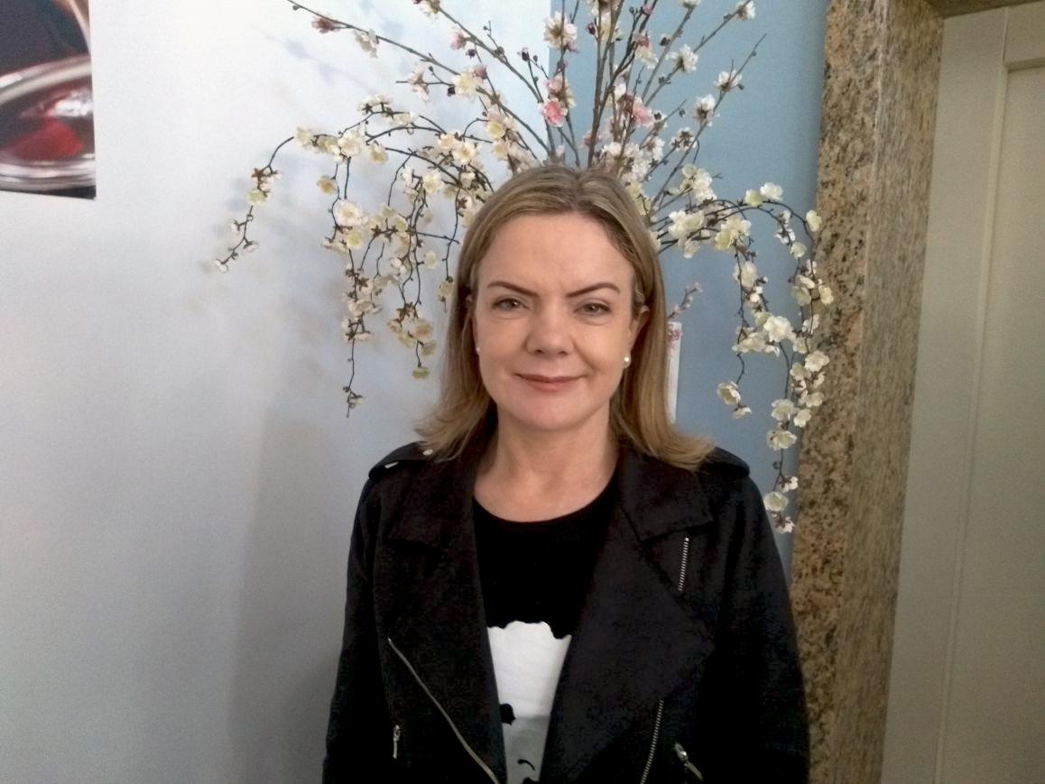 Gleisi Hoffmann confirma pré-candidatura a Deputada Federal