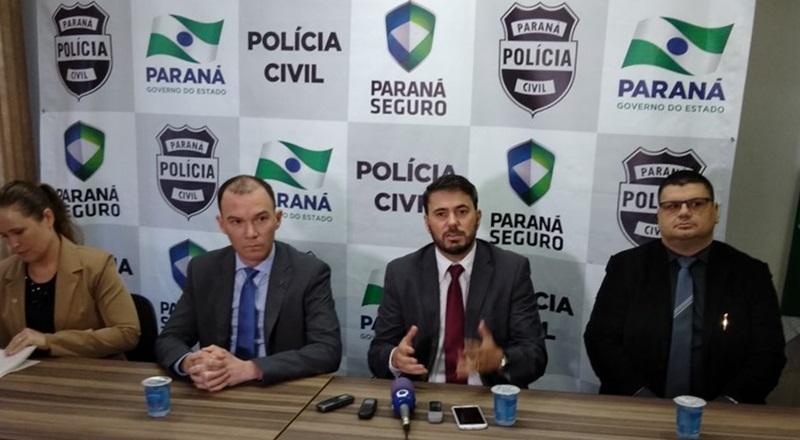 """Polícia Civil presta contas da """"Operação Hígia"""", em Pato Branco"""