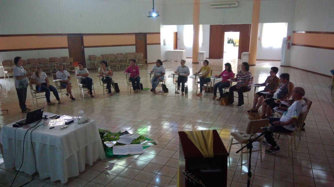 Pastoral da Criança capacita novas coordenadoras paroquiais
