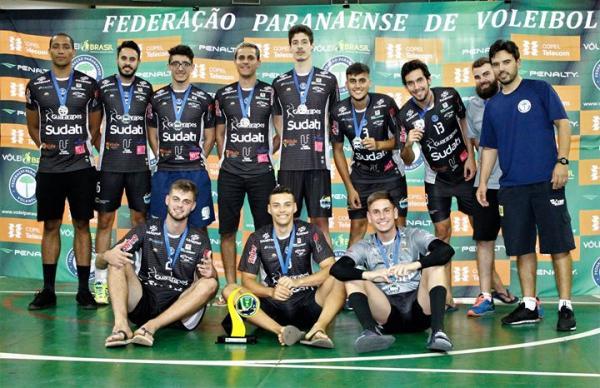 Vôlei: AVP Palmas/ Guararapes/ Sudati inicia a temporada com vice-campeonato da Supercopa Paraná