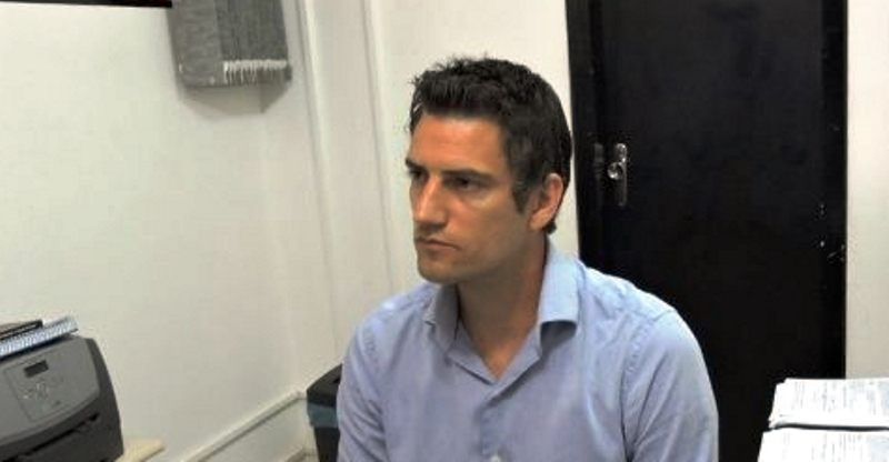 Leonardo Guimarães deixa a delegacia de Chopinzinho