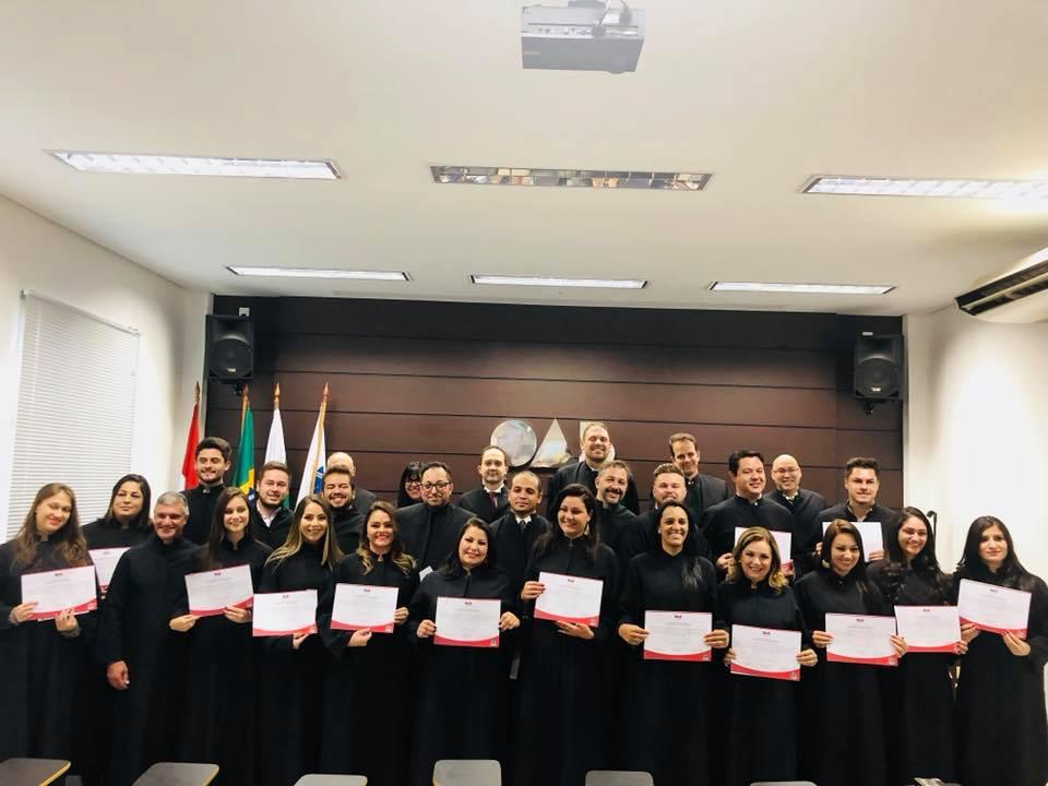 Novos advogados prestam compromisso na OAB de Palmas