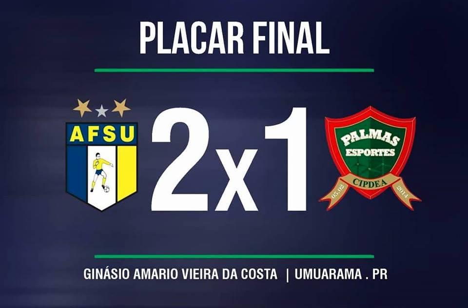 Palmas/Pelizzari futsal perde em Umuarama