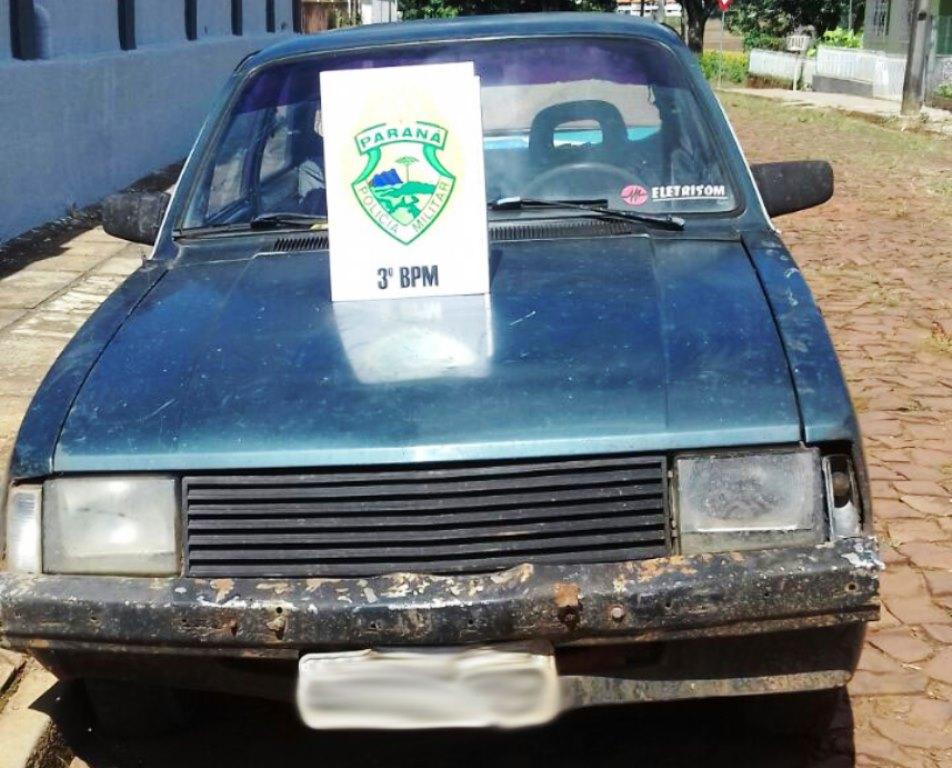 Dois veículos com registro de furto são recuperados na região sudoeste