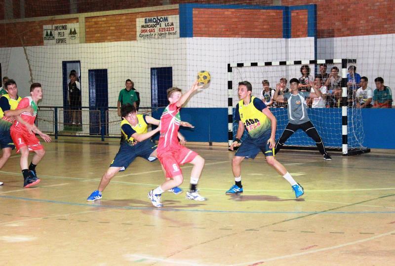 Saudade do Iguaçu realiza campeonato municipal de Handebol