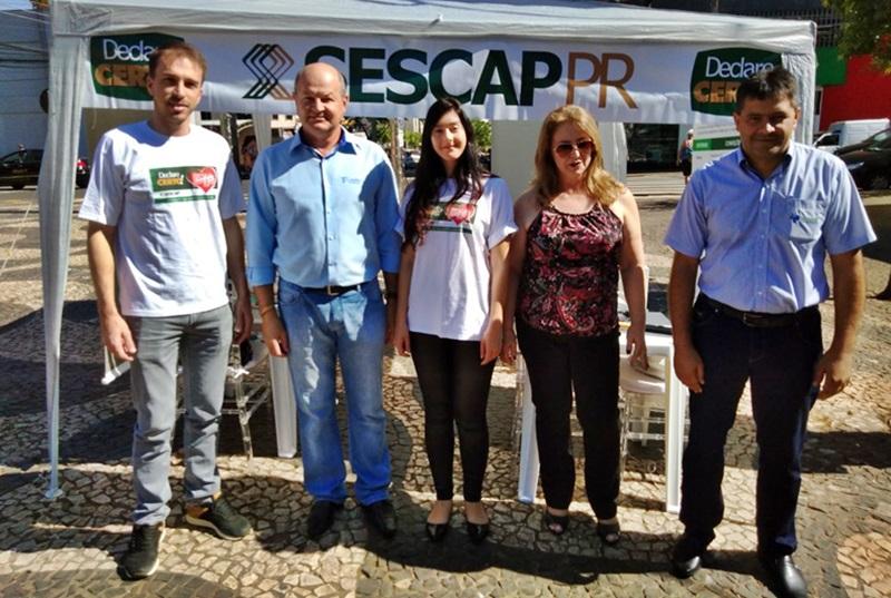 """Campanha """"Declare Certo"""" é sucesso em todo o Paraná"""