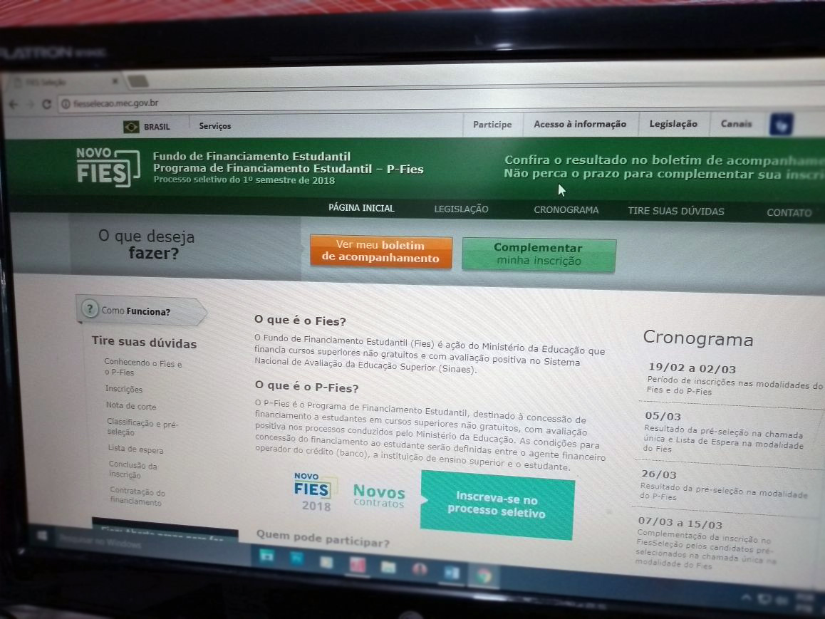 MEC aumenta teto de financiamento de mensalidades pelo Fies