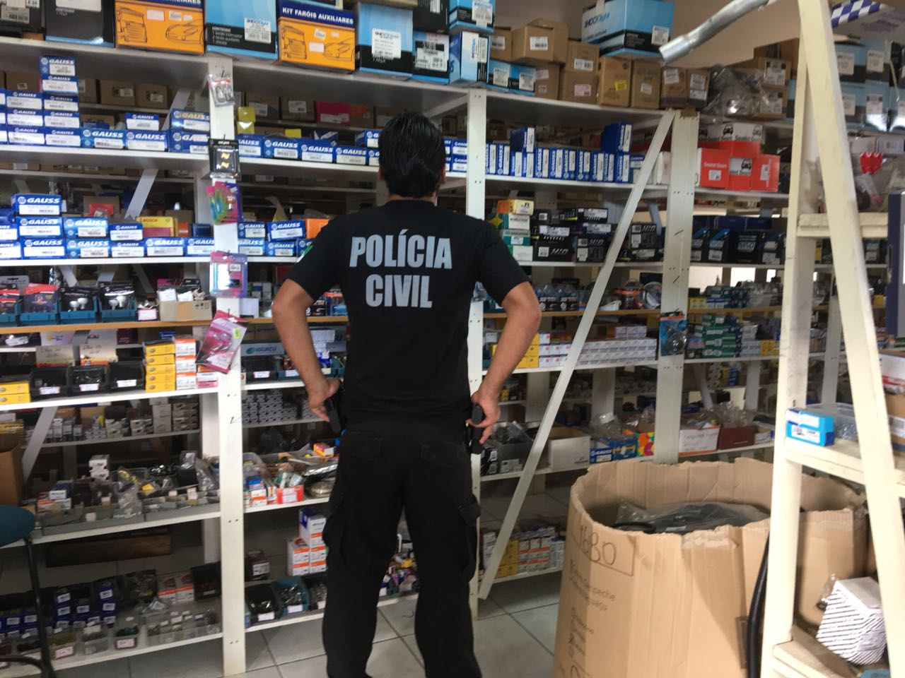 Operação em Palmas e Francisco Beltrão investiga crime contra patrimônio público