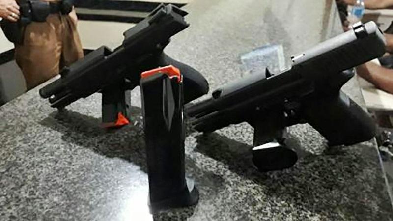 Armas são encontradas na bagagem de adolescente de Pato Branco