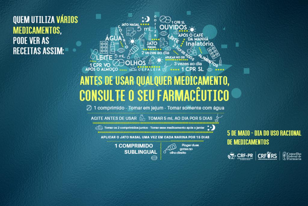 Palmas na Campanha do Uso Racional de Medicamentos dia 05 de Maio