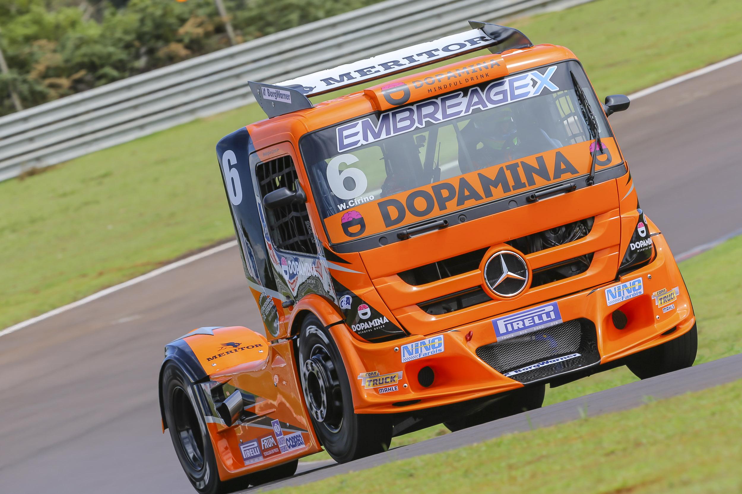 Beltronense lidera a Copa Sul Truck e foca no título