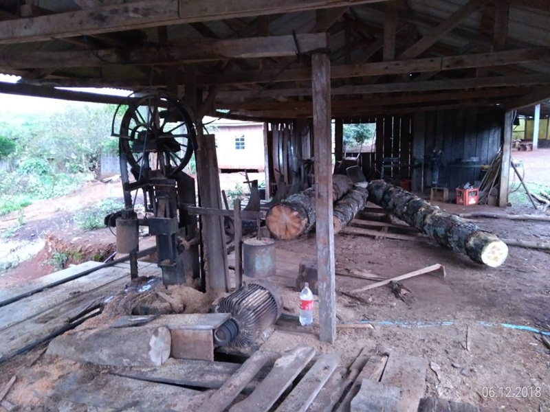 Polícia Ambiental encontra serraria clandestina em São João