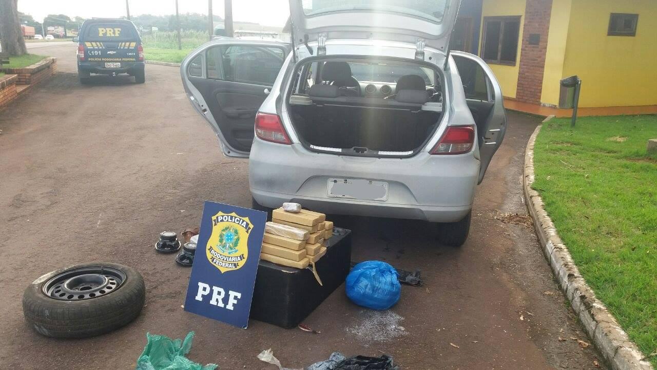 PRF apreende droga que seria entregue em Palmas