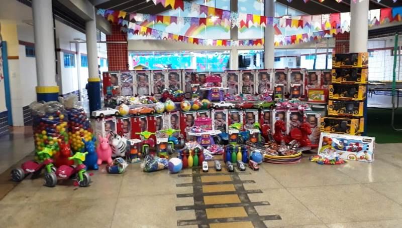 Mais de R$ 100 mil em brinquedos são entregues à CMEI'S e escolas de Chopinzinho