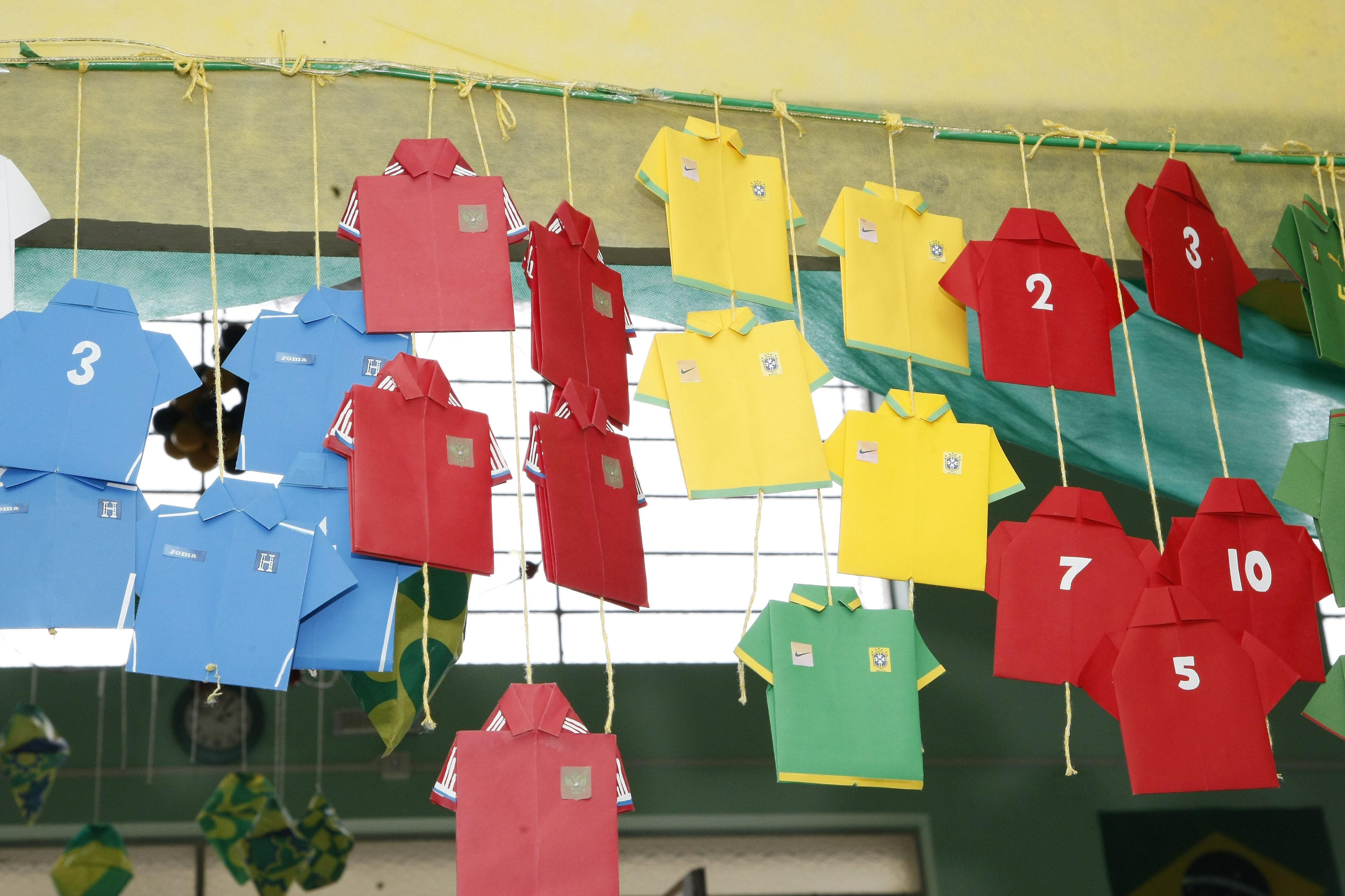 Durante os jogos da seleção brasileira, aulas não serão suspensas