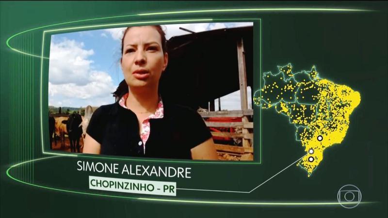 Chopinzinhense aparece em rede nacional falando sobre o futuro do Brasil