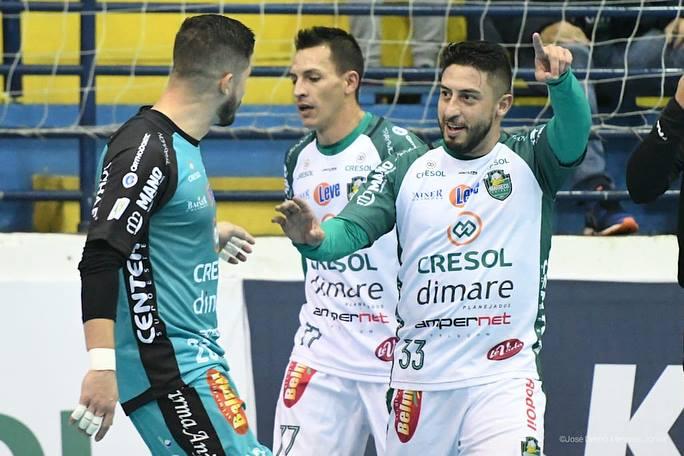 Marreco vence o Matelândia e volta a vice-liderança do Paranaense de Futsal