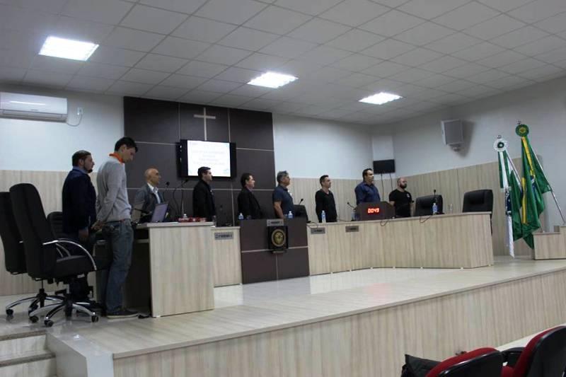 Realizada trigésima Sessão da Câmara de Vereadores de Saudade do Iguaçu