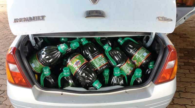 PRF apreende mais de 300 litros de azeite contrabandeado da Argentina