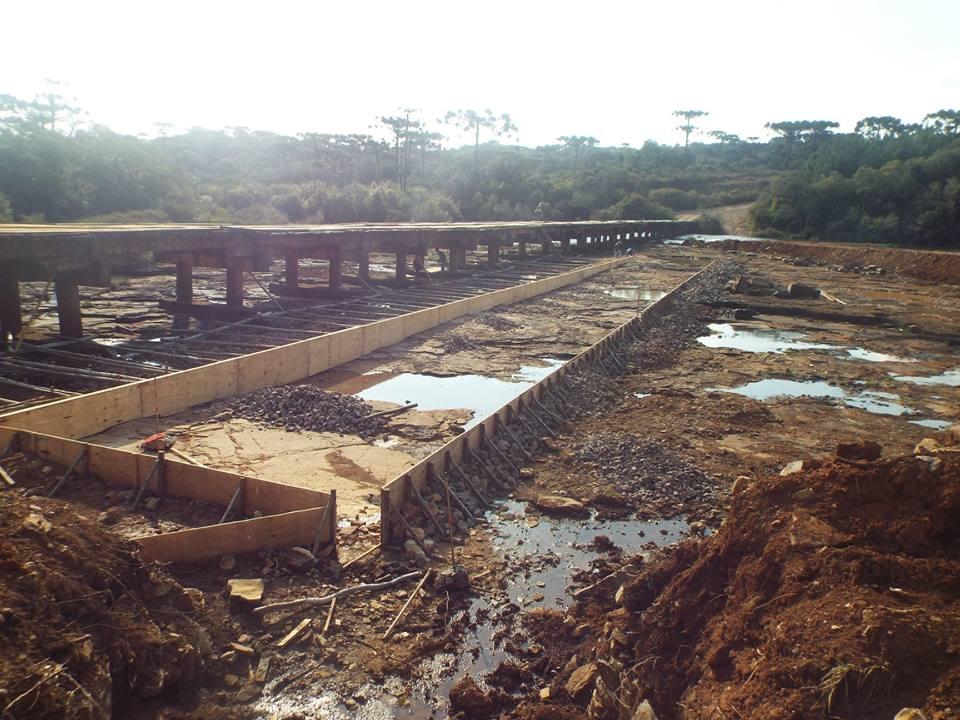 Ponte do Abarracamento começa ganhar forma