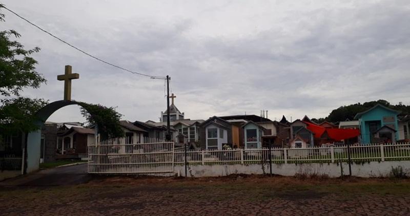 Obras no Cemitério Municipal estão liberadas até o dia 29