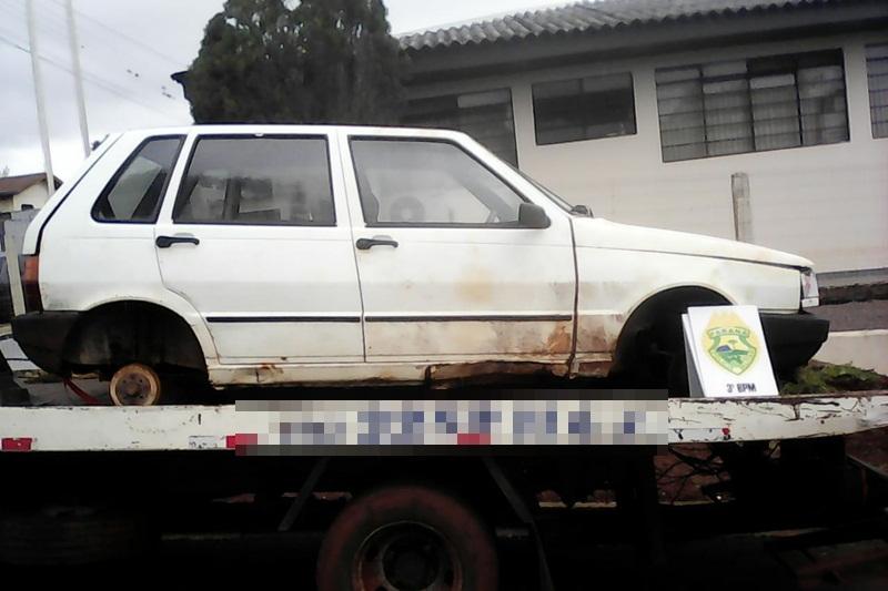 Carro furtado em Pato Branco é recuperado em Clevelândia