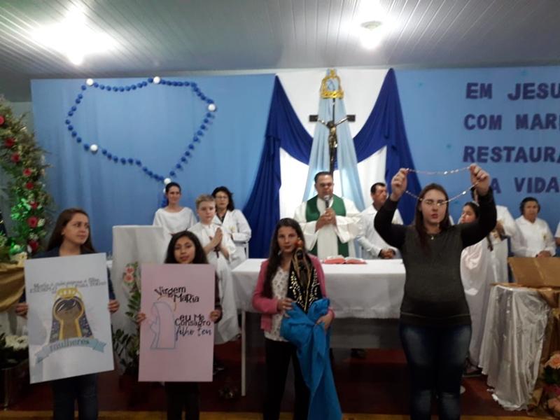 Pastoral da Criança celebrou o Dia do Nascituro