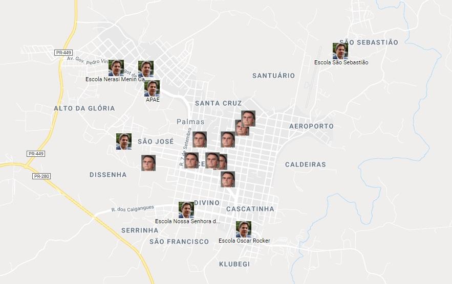 Em Palmas, Bolsonaro venceu em 9 colégios eleitorais; Haddad ficou à frente em 11