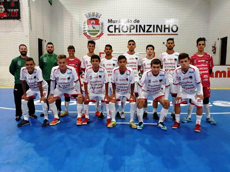 Acel classificada para as oitavas de final da Copa Sudoeste de Futsal