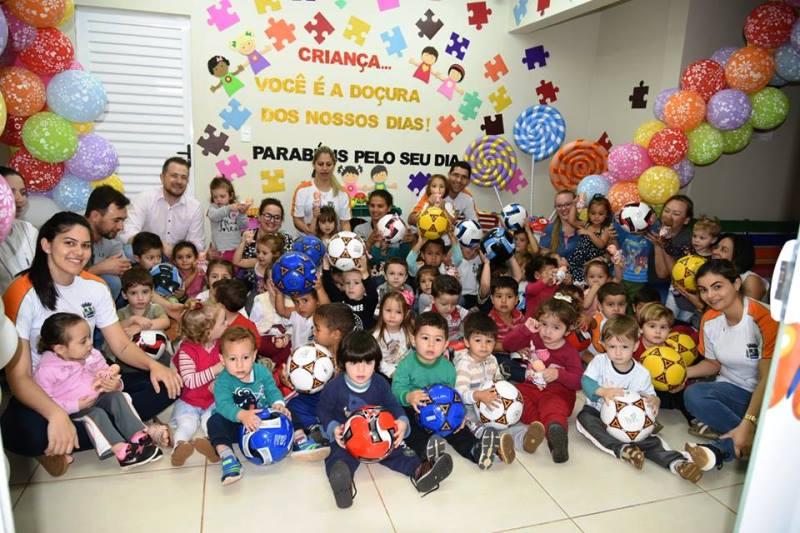 Semana da criança teve programação especial em Saudade do Iguaçu