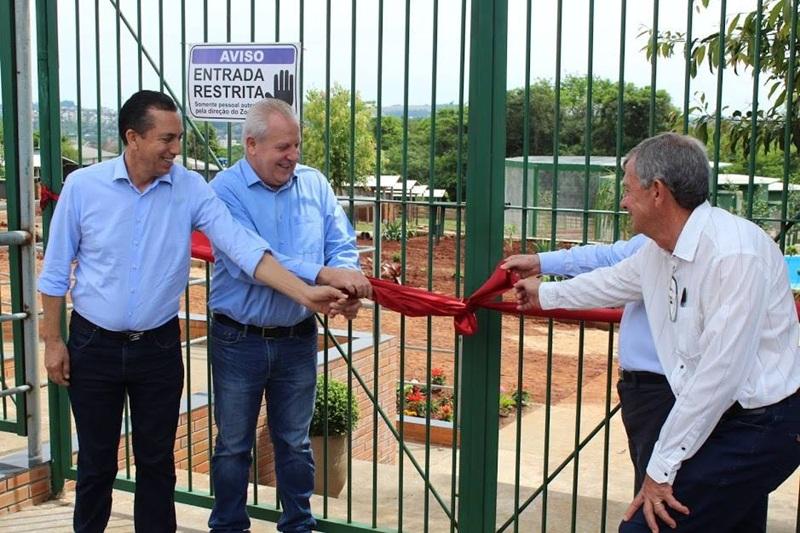 Unisep inaugura zoológico em Dois Vizinhos