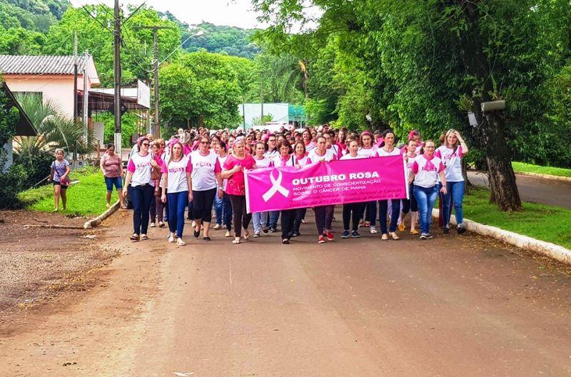 Secretaria de Saúde realiza evento relacionado ao Outubro Rosa em Sulina