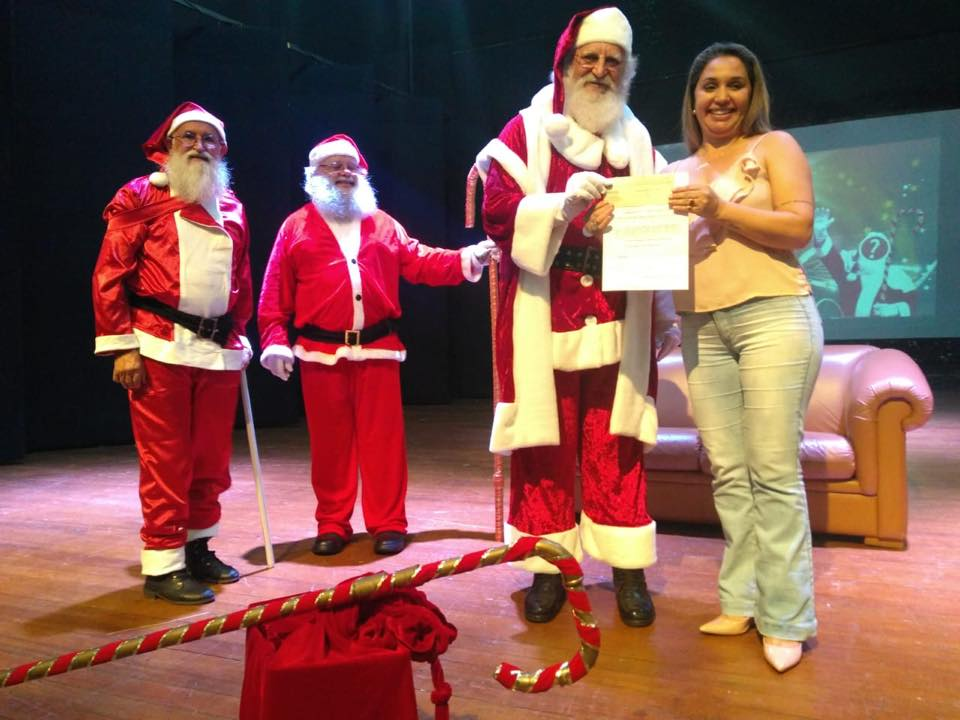 Concurso elegeu o Papai Noel de Francisco Beltrão 2018