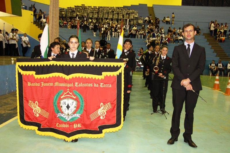 Banda Jovem de Candói conquista primeiro lugar em Campeonato Paranaense