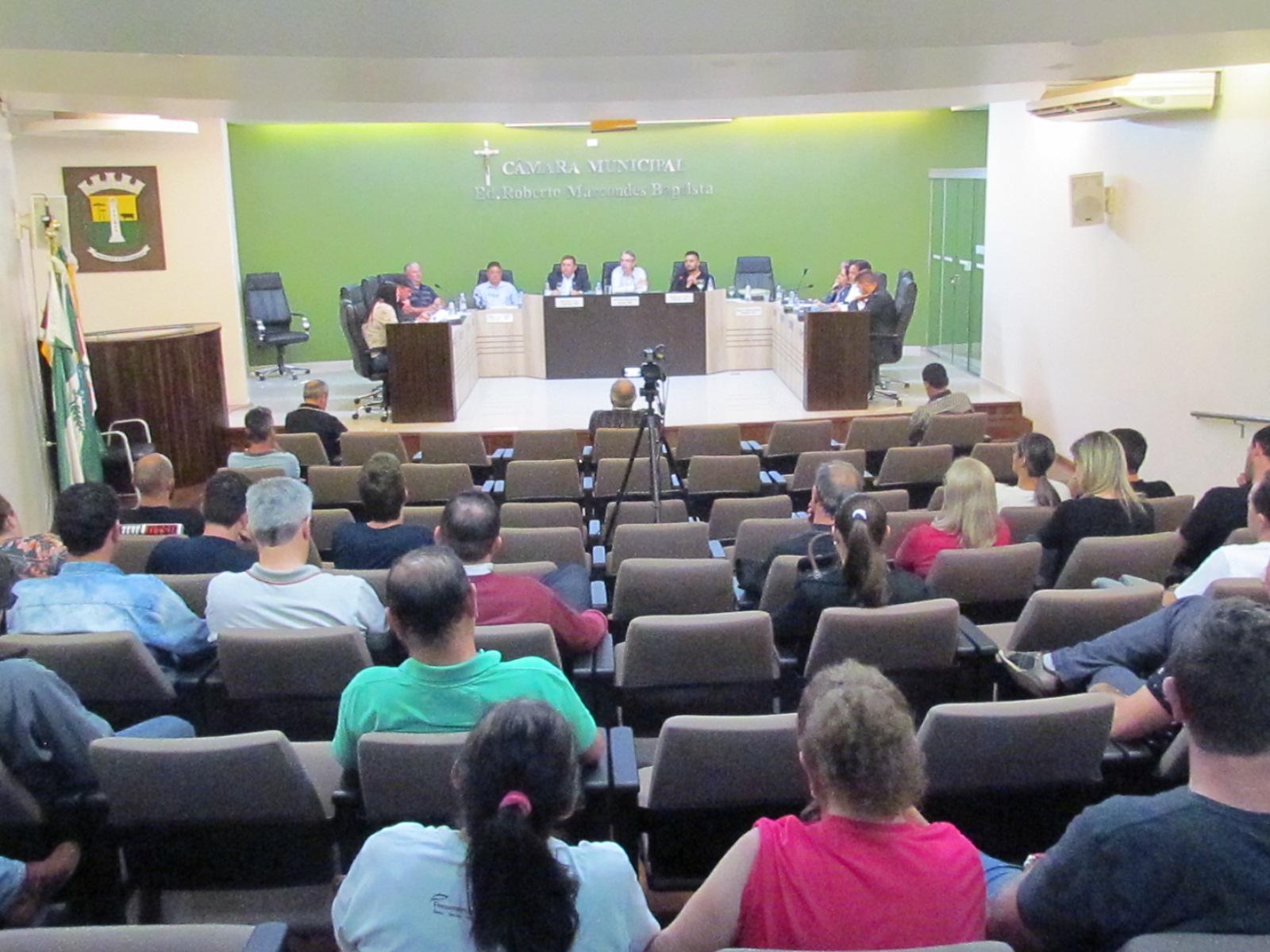 Câmara rejeita Projeto de Lei do novo Código Tributário de Palmas