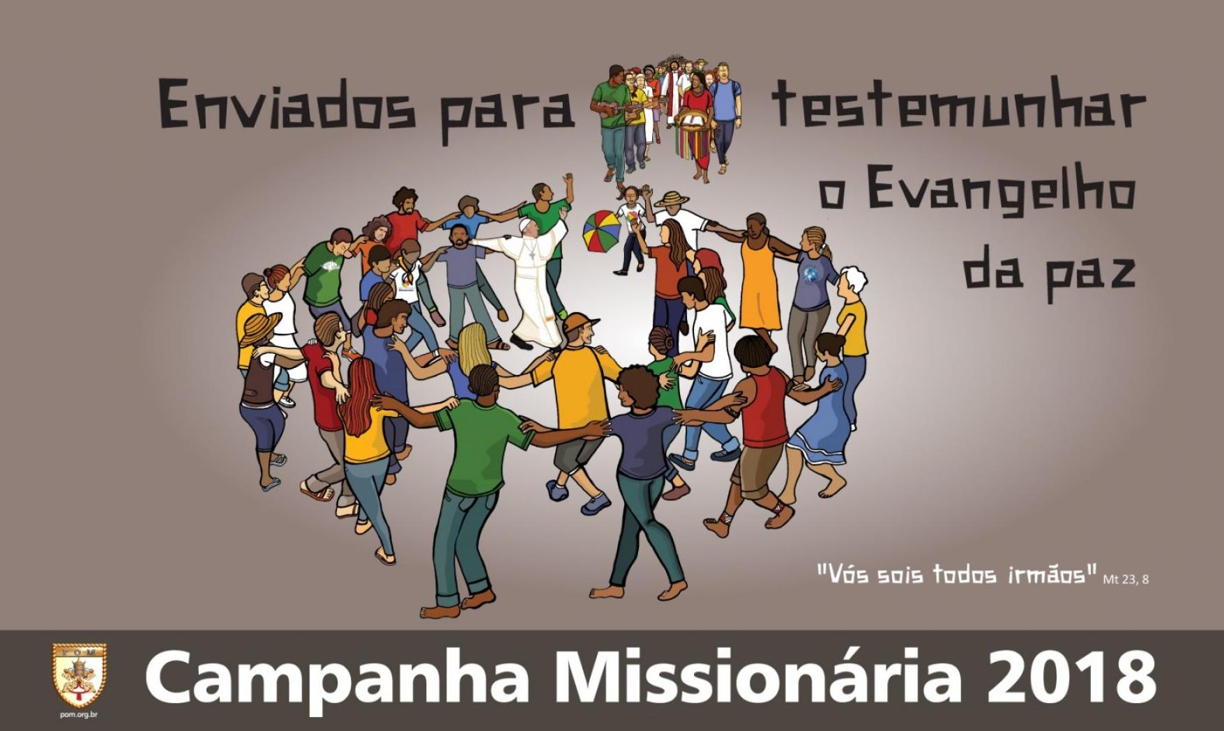 Outubro mês missionário