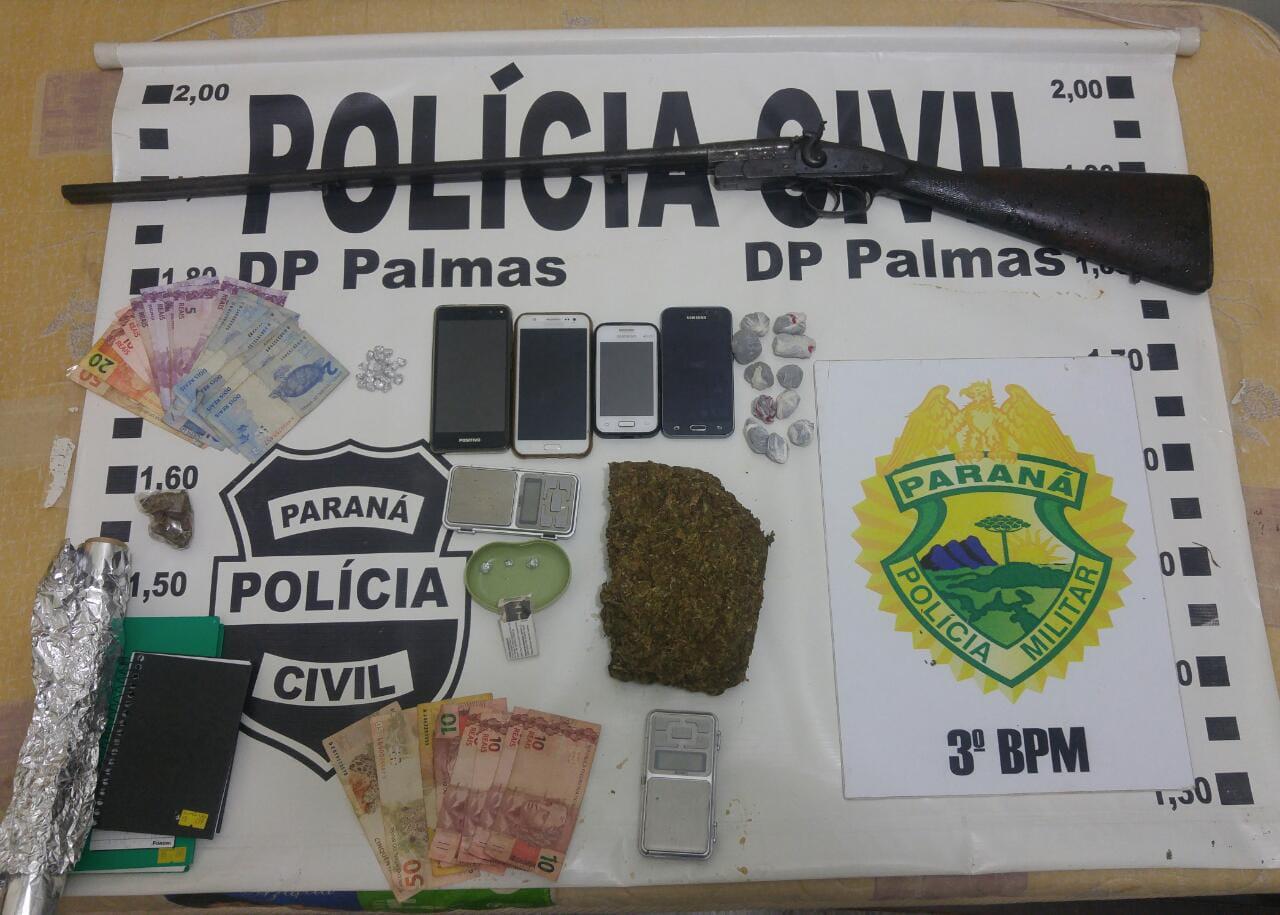 Operação policial em Palmas/PR com resultados positivos