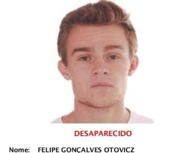 Jovem desaparecido foi encontrado no centro de Curitiba