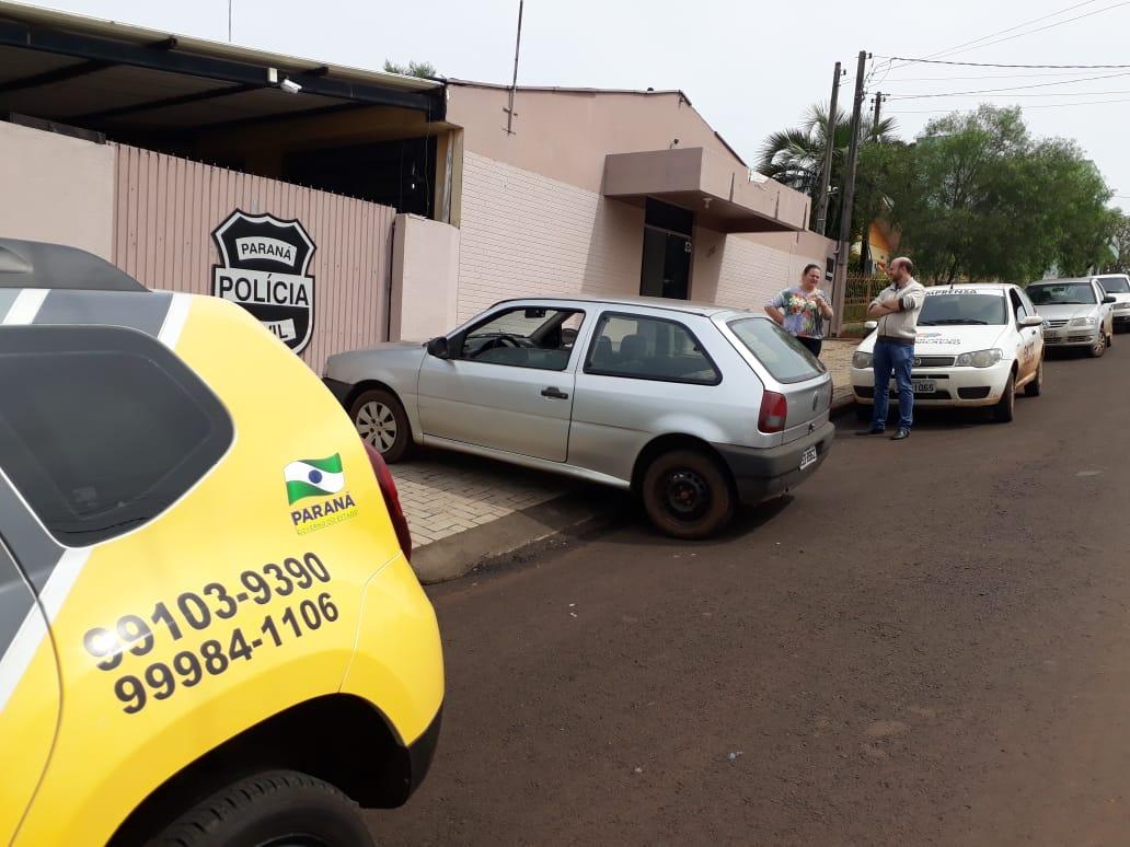 Veículo furtado em São João é recuperado em Chopinzinho