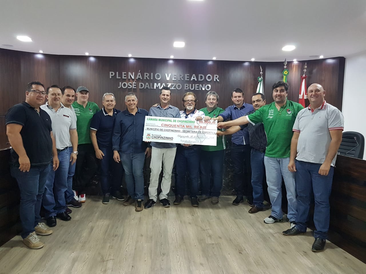 Câmara de Vereadores repassa cinquenta mil reais à Acel