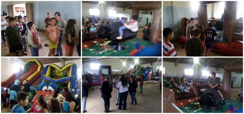 Atividades beneficiam crianças de escolas rurais em Rio Bonito do Iguaçu