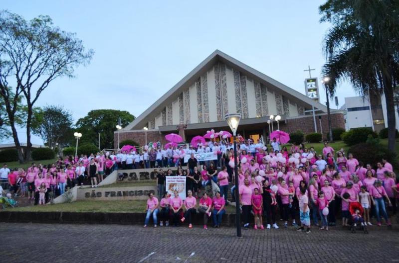 Chopinzinho inicia atividades da campanha Outubro Rosa