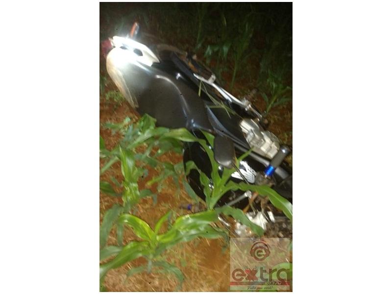 Homem morre atropelado por moto na BR-373, em Candói