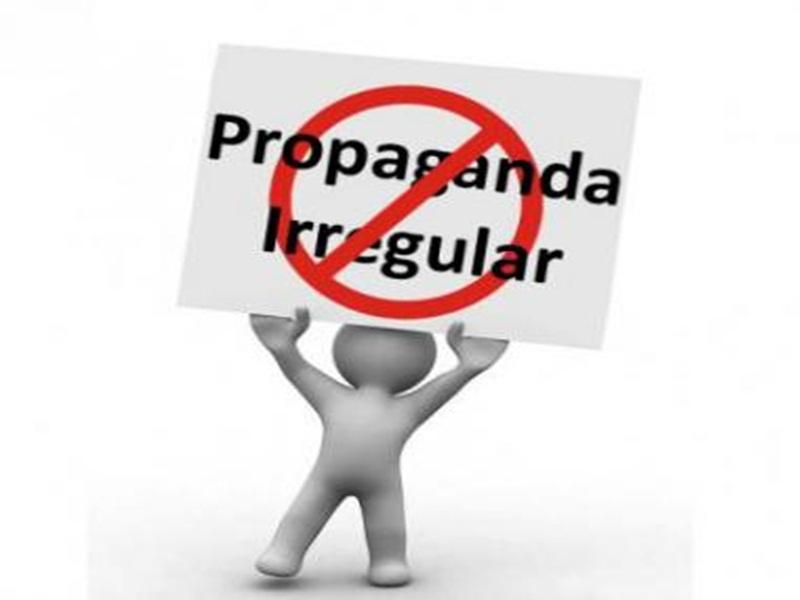 PM apreende material de campanha eleitoral no interior de Candói