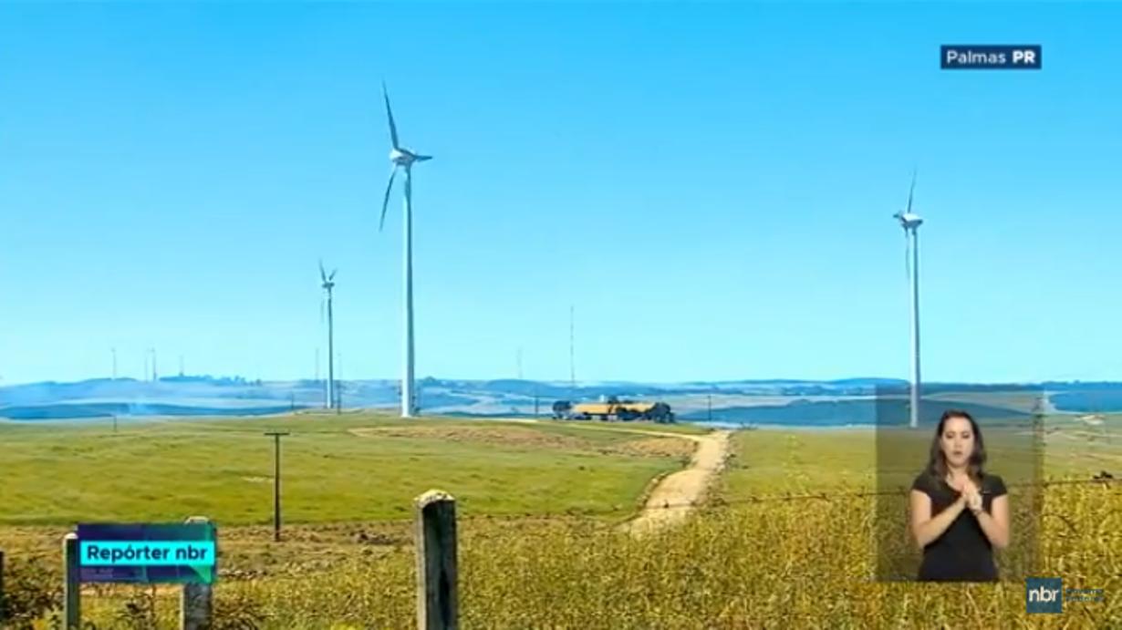 Novos investimentos eólicos em Palmas em rede nacional de Rádio e TV